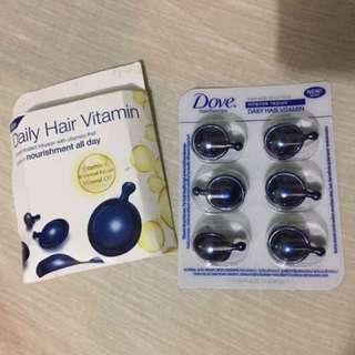Dove Hair Vitamin