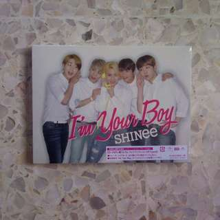 sealed shinee im your boy limited ver type b album