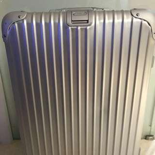 """Rimowa Topas 26"""" Multi wheel suitcase"""