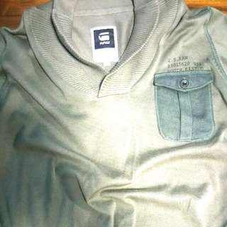 G-Star Raw Olive Green Long Sleeve