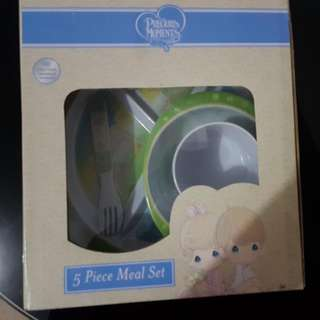Precious Moments 5 pc meal set