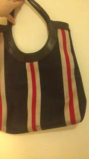 Stripey Weekend Handbag
