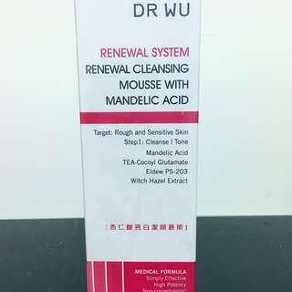 Dr Wu 潔顏慕絲