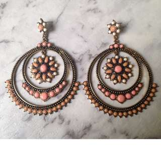 Boho styled earrings