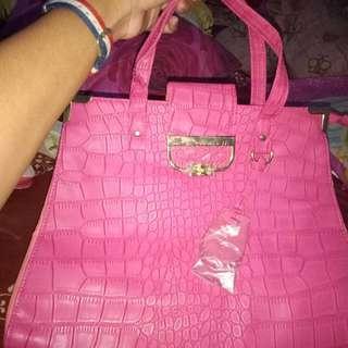 Pink Glamour fashion Bag