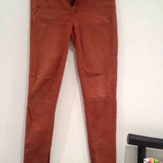 Country Road Size 6 Burnt Orange Jeans