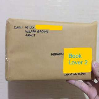 Another Book Packet Sent to Book Lover 2 di JakTim