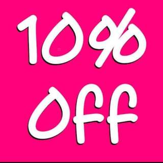 LIKE 20 OF MY ITEMS AND GET 10% OFF YOUR PURCHASE