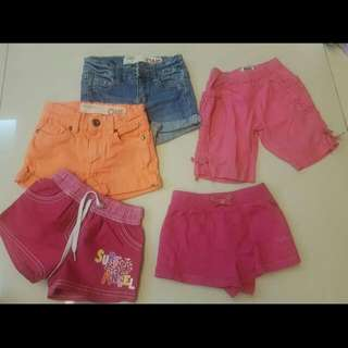 Girl Toddler Kid Shorts Cotton On, Oshkosh, Etc
