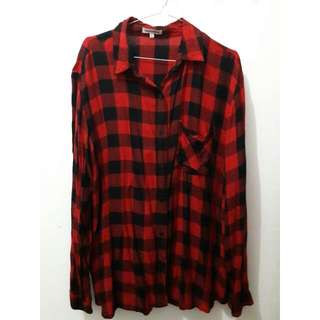 Plaid Shirt By Colorbox