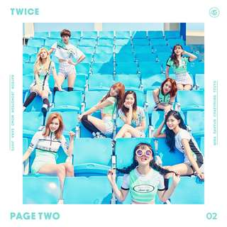 Official Twice 2nd mini album page two (WTS)