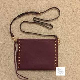 Rebecca Minkoff Burgundy Leather Cross Body Bag (NEW W/ TAG!)