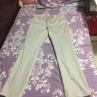 全新 Uniqlo 淡粉紅直腳褲 Light Pink Straight Pants