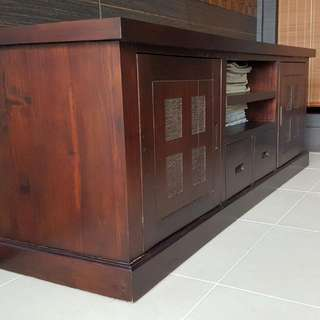 Premium Quality Teakwood Furniture - TV Console Table