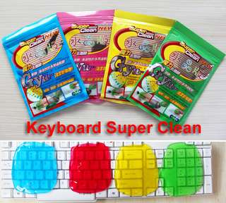 Super Clean Keyboard Gel - Pembersih Keyboard