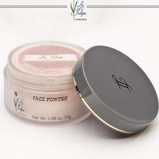 La Tulipe Face Powder 2pc (Rachel&Suntan)