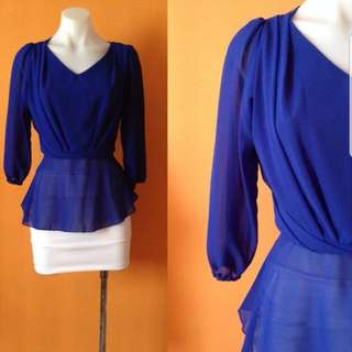 Blue Top From SODA GEMBIRA