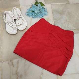 Red Skirt #SempenaRaya