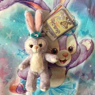 日本迪士尼 史黛拉兔 Stellalou 站姿吊飾