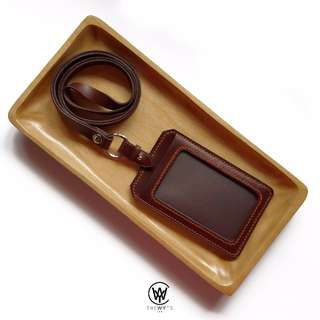 Handmade Genuine Full Grain Leather Lanyard Holder | Handcrafted | Handstitched | D47