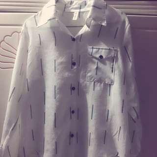 女裝白色恤衫
