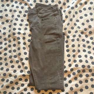 High Waisted American Eagle Jeggings