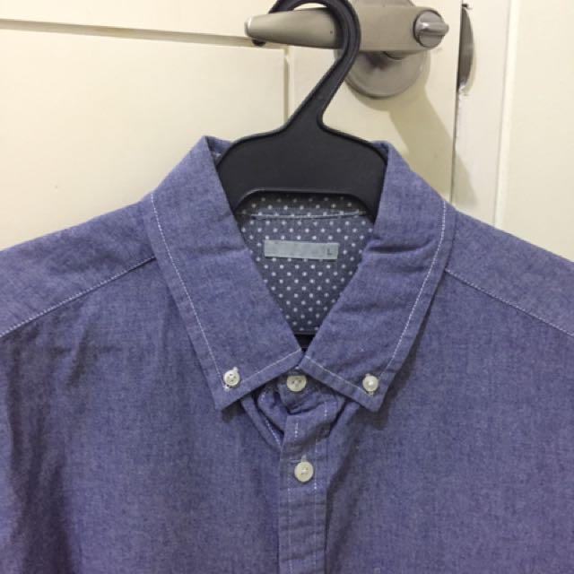 3/4 denim Shirt