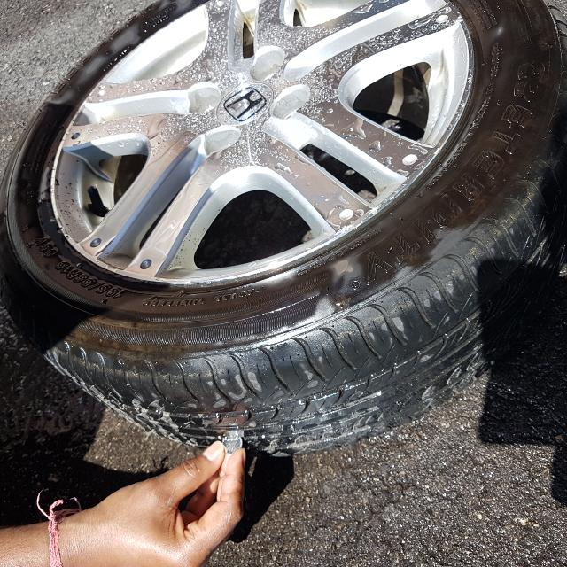 4 Honda Fit Rims 9/10 Condition