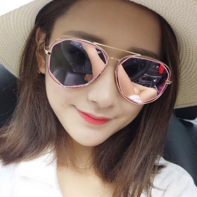 ‼️注目‼️韓國多邊形太陽眼鏡