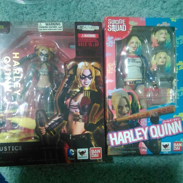 小丑女 正義聯盟版 自殺小隊版 SHF 哈莉奎茵 Harley Quinn 6吋 S.H.F.