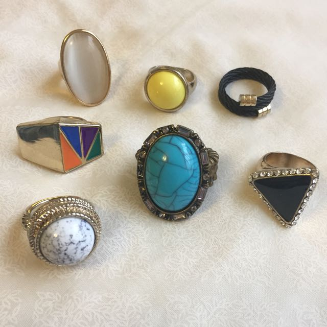 🆕 Assorted rings
