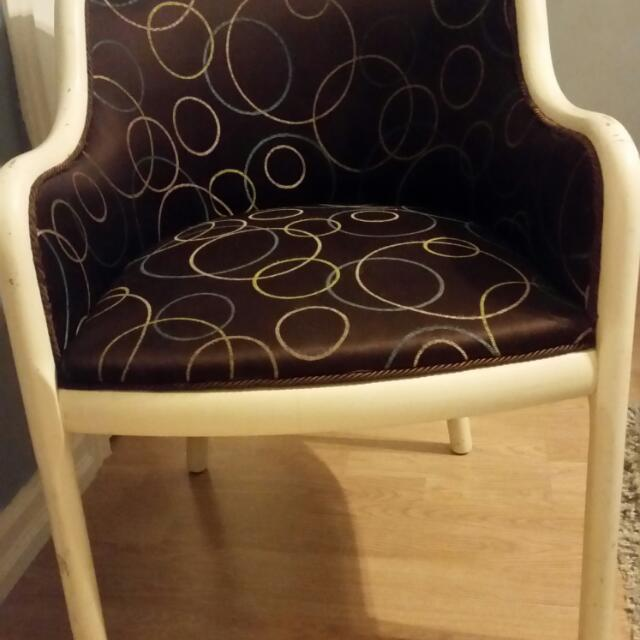 Accent Chair  Vintage style