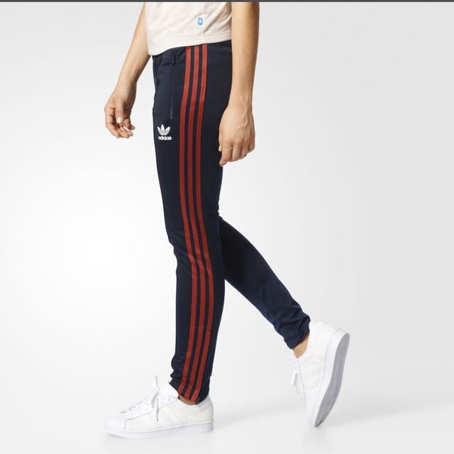 e9755dc140b Adidas SST Track Pants (women's), Sports, Sports Apparel on Carousell