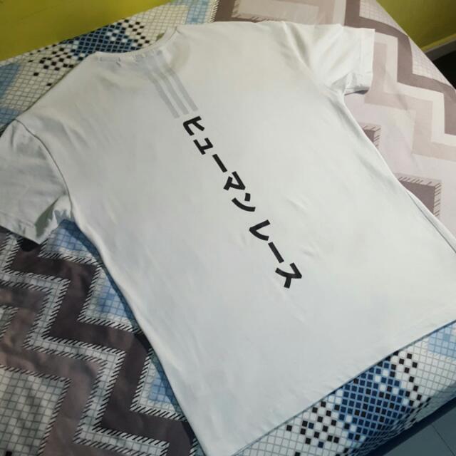 943a2fda7e0f2 Adidas x Pharrell Williams Japanese Tee (White   Black)