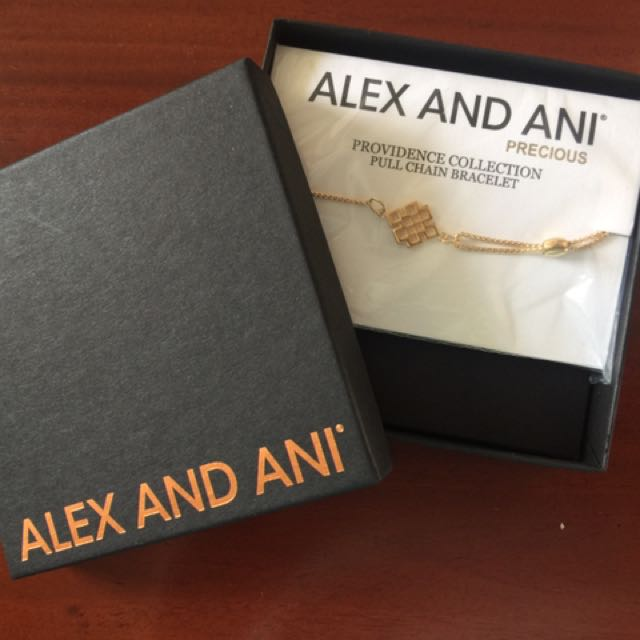 Alex And Ani -Endless Knot Pull Chain - Flash SALE!!