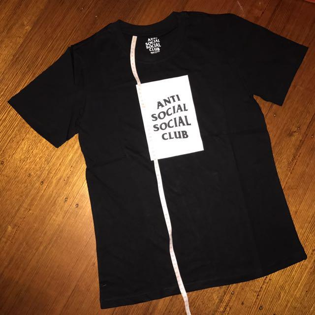 Anti Social Social Club BOX Tee Shirt BLACK ASSC #EOFYSALE