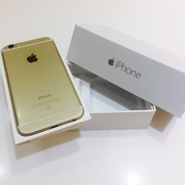 🍎Apple iPhone 6 搶手香檳金 16G