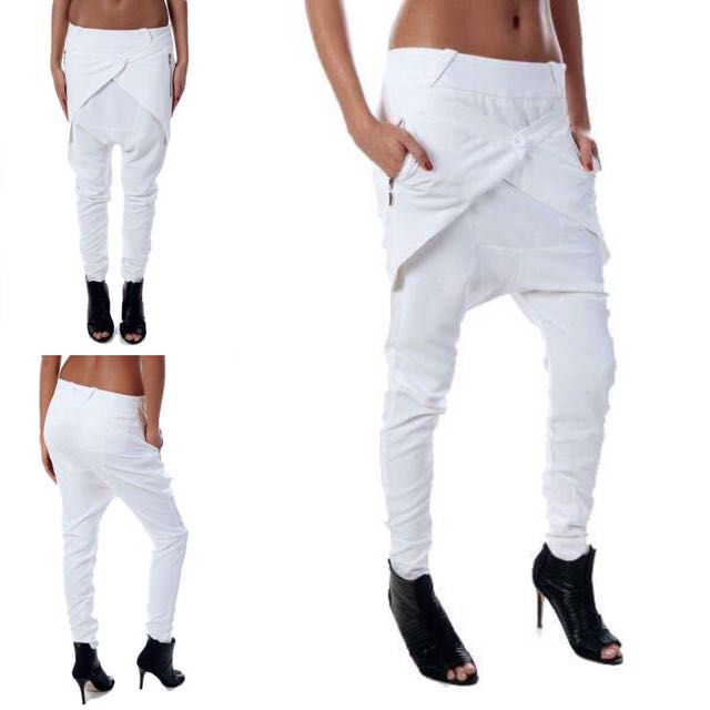 Art Of Aztec Pants - White