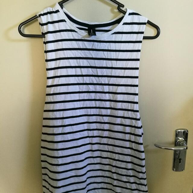 AS Colour Striped Singlet - Size 8