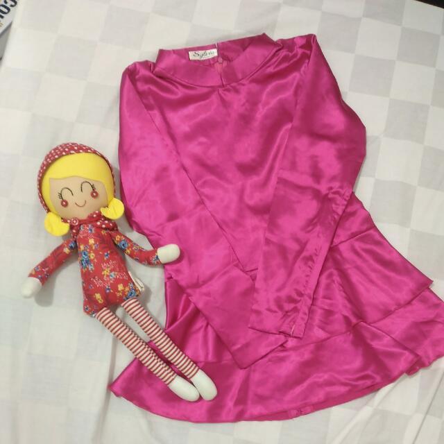 Atasan Kebaya Warna Pink (S)