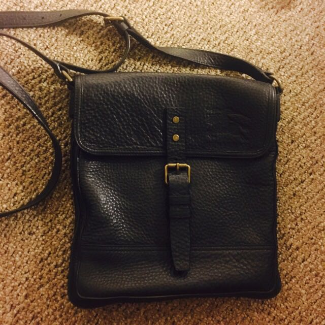 Authentic Burberry Side Bag