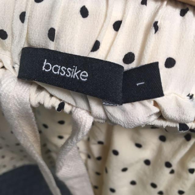 Bassike Spot Silk Shorts