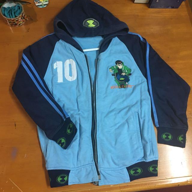 Ben 10 Jacket With Hood