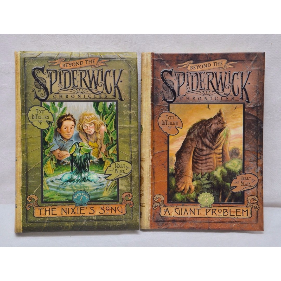 Beyond The Spiderwick Chronicles Book Pack 1 & 2