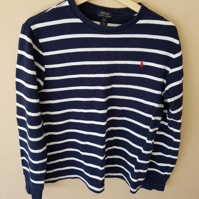 Boxy Fit Ralph Lauren Thermo Knit Sweater