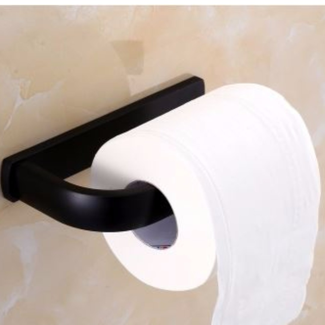 Brand New - Stainless Steel Bathroom Accessories (Black), Furniture ...