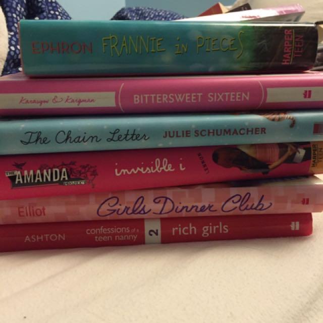 Bunch Of YA Novels