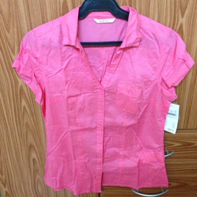 Camaieu Pink Blouse