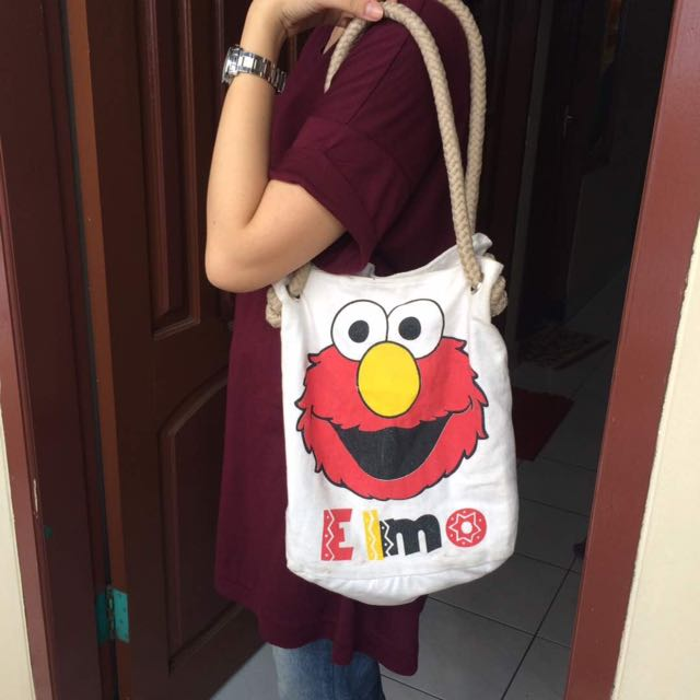 Canvas Bag Elmo