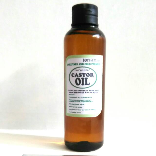 Castor Oil 100ml Cold Pressed